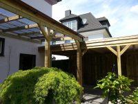 Terrassenüberdachung 006 aus Holz für Hamburg und Schleswig-Holstein