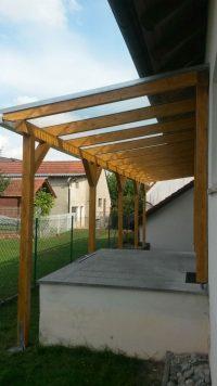 Terrassenüberdachung 001 aus Holz für Hamburg und Schleswig-Holstein